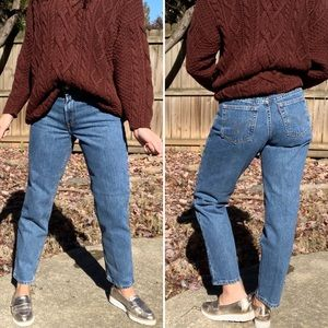 Levi's 550 Mom Jeans Vintage High Rise Tapered Leg